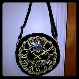 Clock Crossbody Purse